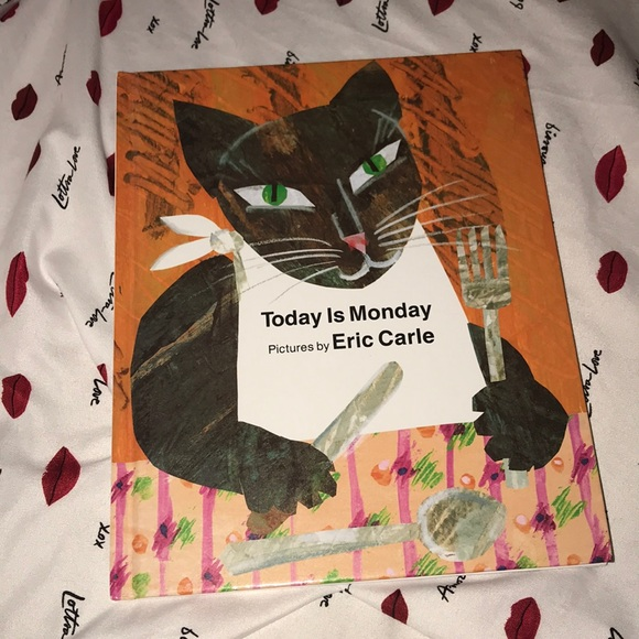 Today is Monday hardcover book 1993 💕